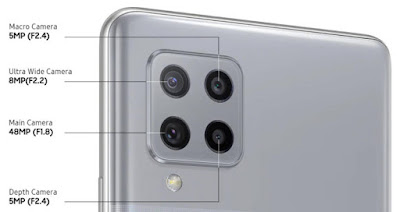 Samsung Galaxy A42 5G Camera