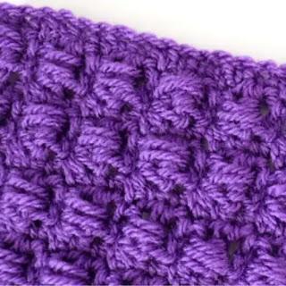 Punto Blocked a Crochet