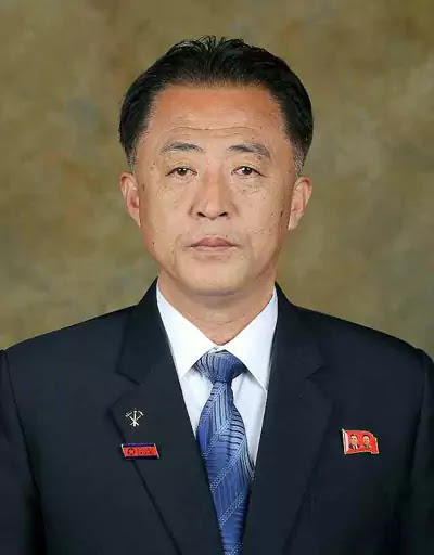 Minister of Natural Resources Development Kim Chol Su