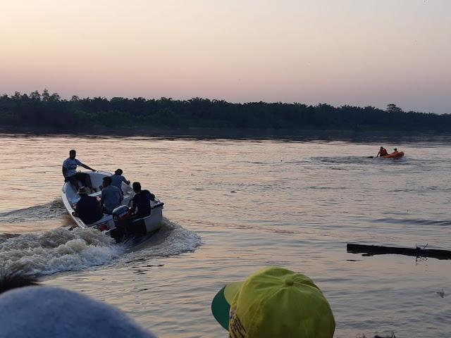 BPBD dan Tagana Cari Bocah SD yang Tenggelam di Perairan Sungai Musi