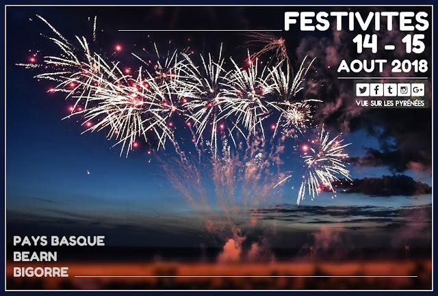Festivités du 15 août Pyrénées 2018