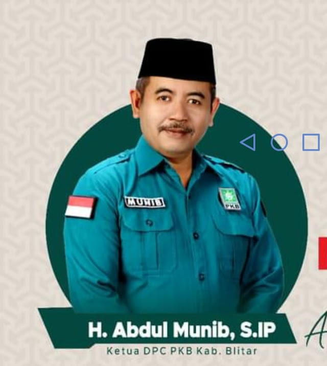 Wakil Ketua DPRD Kabupaten Blitar Abdul Munib Dan staff Ucapkan Selamat Hari Jadi Blitar Ke 696