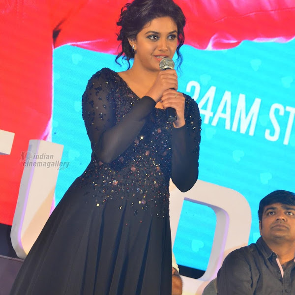 Keerthi Suresh latest photos from Remo Thanks Giving Meet