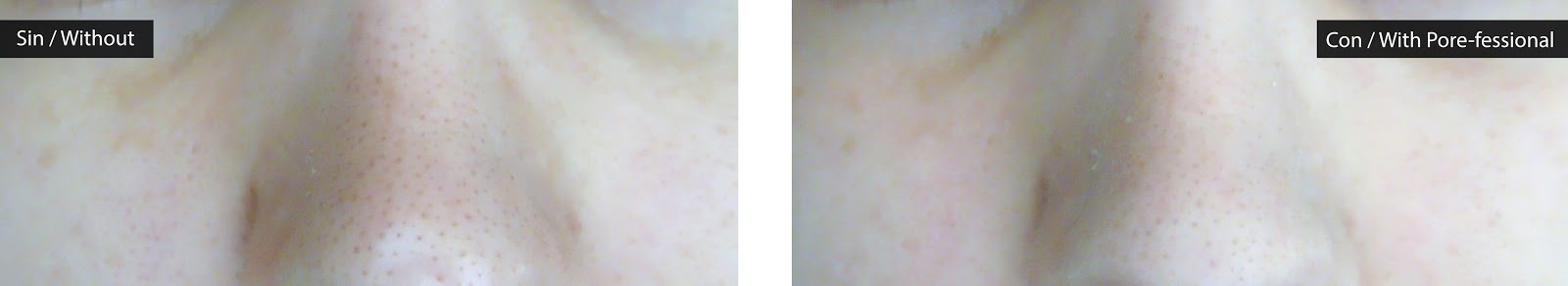 Review porefessional before and after on big pores, reseña antes y después poros grandes