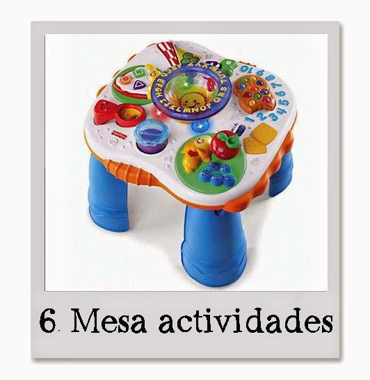 mesa actividades bebe mimuselina