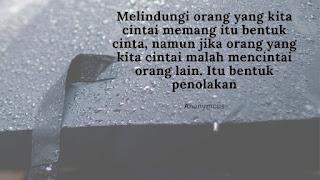 Jangan Menjadi Payung untuk Orang yang Menyukai Hujan