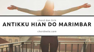 chord Antikku Hian Do Marimbar