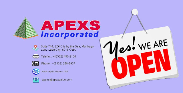 APEXS update from Covid-19 temporary work suspension