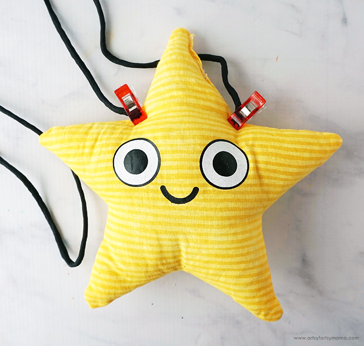 Star Butterfly Bag with Clips