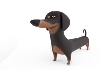 Buddy Dog 3D Models Free Download Obj,Maya,Low poly