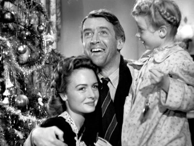 "High Heels in the Wilderness: I Wish I had  River to Skate On  ""Atta Boy Clarence"" scene from It's a Wonderful Life"