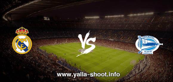 نتيجة مباراة ريال مدريد والافيس اليوم السبت 23-1-2021 يلا شوت الجديد في الدوري الاسباني