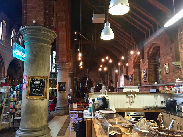 Sanctuary café, Sheriff road centre, West Hampstead. Pic: Kerstin Rodgers