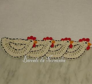 Patron Crochet Gallinas
