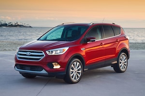 2018 Ford Escape: Works best when in Park and turned off