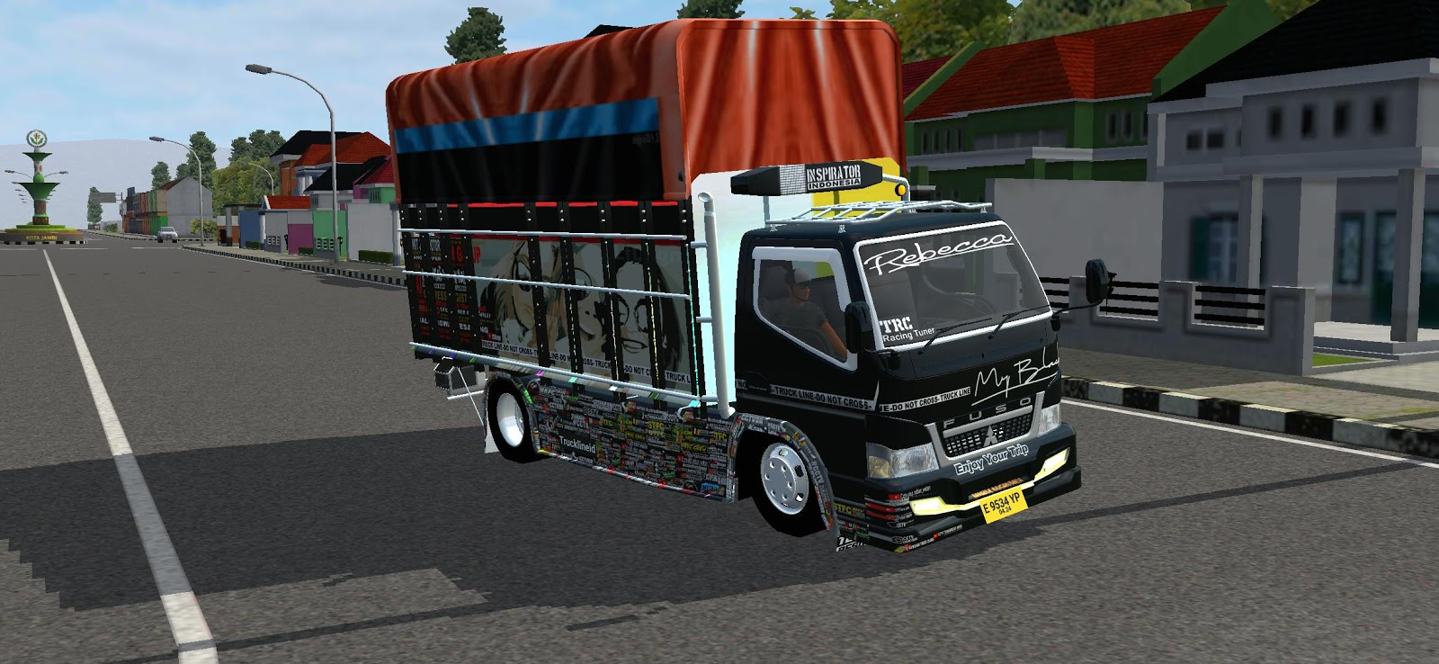 Canter My Black, Canter My Black Mod, Canter My Black Mod BUSSID, Mod Canter My Black, Mod BUSSID Canter My Black, Canter My Black Mod for BUSSID, BUSSID Truck Mod, BUSSID Mod, Download BUSSID Mod, SGCArena, RMC Creation