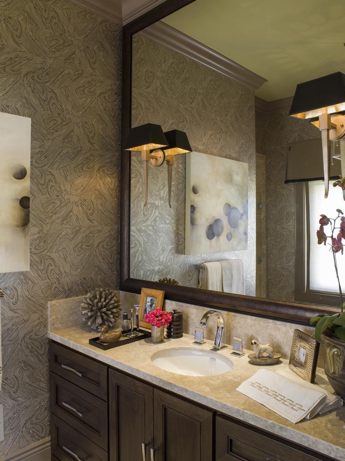 Bathroom Wallpaper Ideas: Bathroom Wallpaper Designs