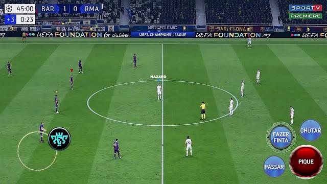 Jogo de futebol offline Android Fifa 19