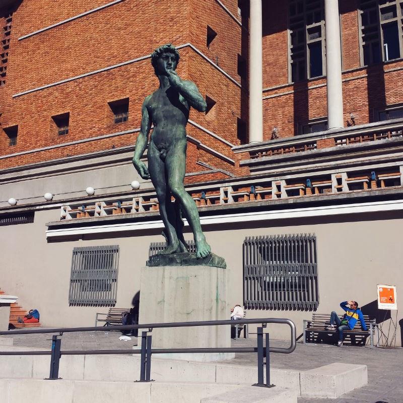 Réplica David de Michelangelo em Montevideu