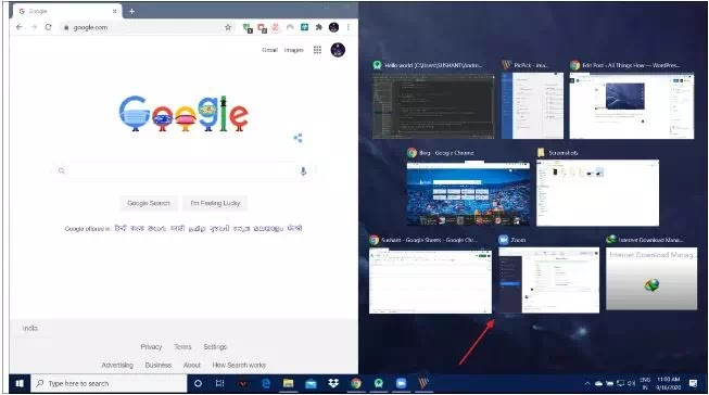 Cara Membagi Layar di PC Windows 10 (Split Screen)-6