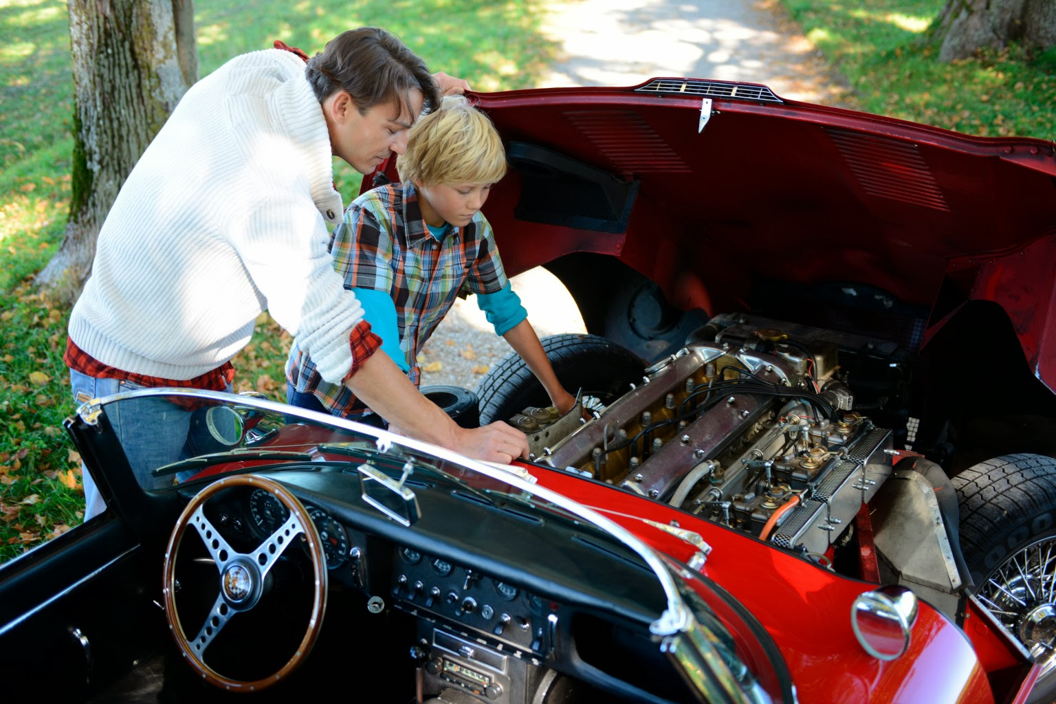 Cars and Coffee Talk: Father/Son project……do you have one?