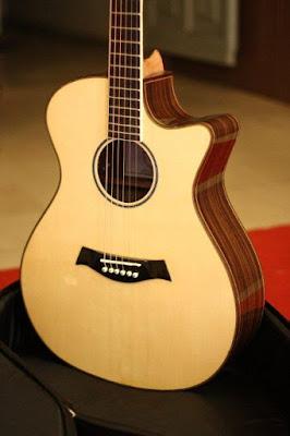 Bán Đàn Guitar Acoustic CA07 giá 5 triệu