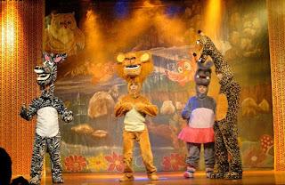 Pátio Alcântara promove a peça infantil 'Madagascar'
