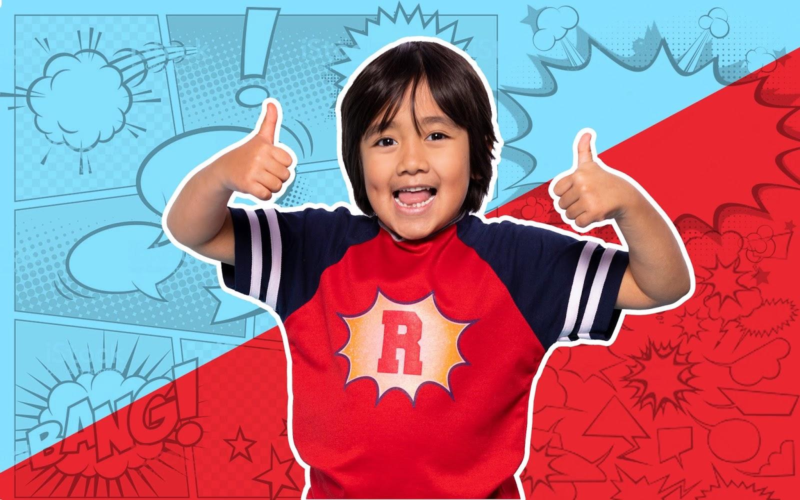 8-year-old Ryan Kaji is highest paid YouTuber in 2019