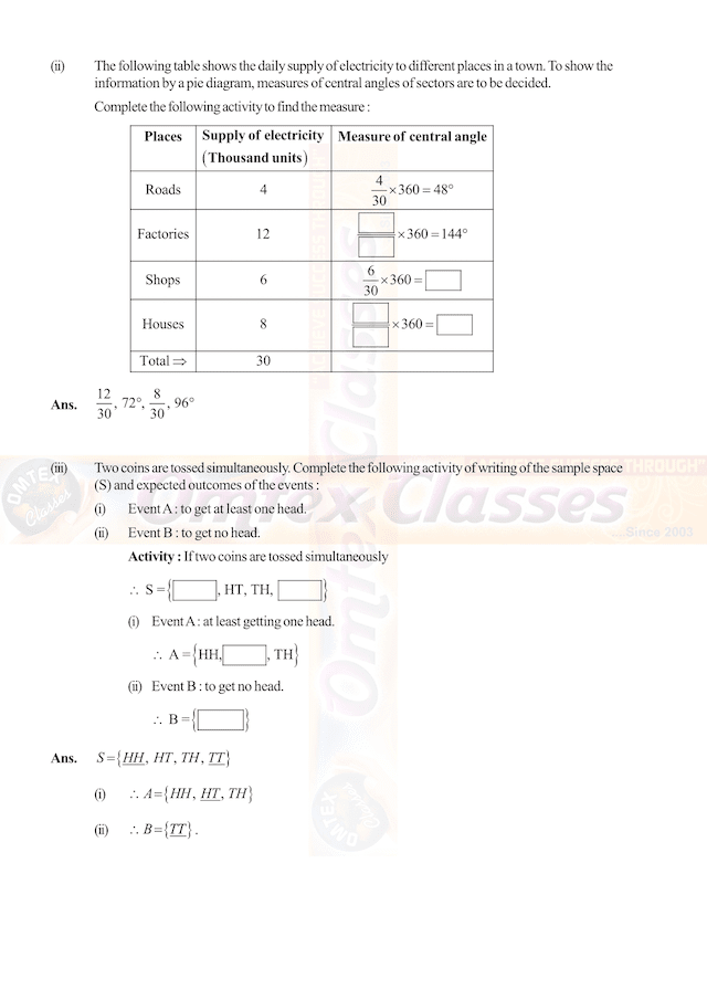 SSC Maths I March 2019 Solution 10th Standard.