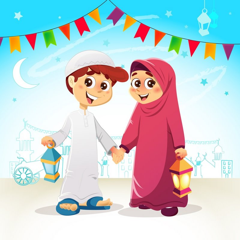 Embed This Clipart صور كرتون رمضان 4
