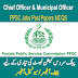 PPSC Chief Officer And Municipal Officer Job Test PDF Books