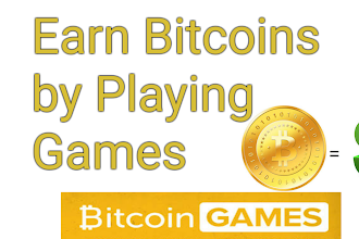 Online Bitcoin Earning Games Earn $50 daily in Bitcoin wallet