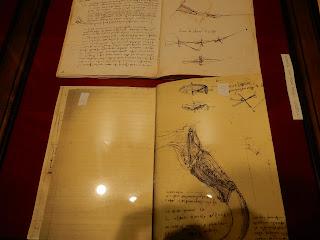 LEONARDO INTERACTIVE MUSEUMの展示手稿