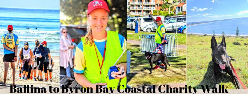 Volunteering At Ballina to Byron Bay Charity Walk