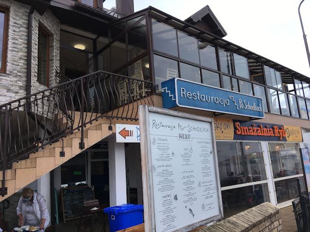 Restauracja po schodkach, Sarbinowo