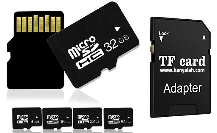 Contoh TF Memory MicroSD Card