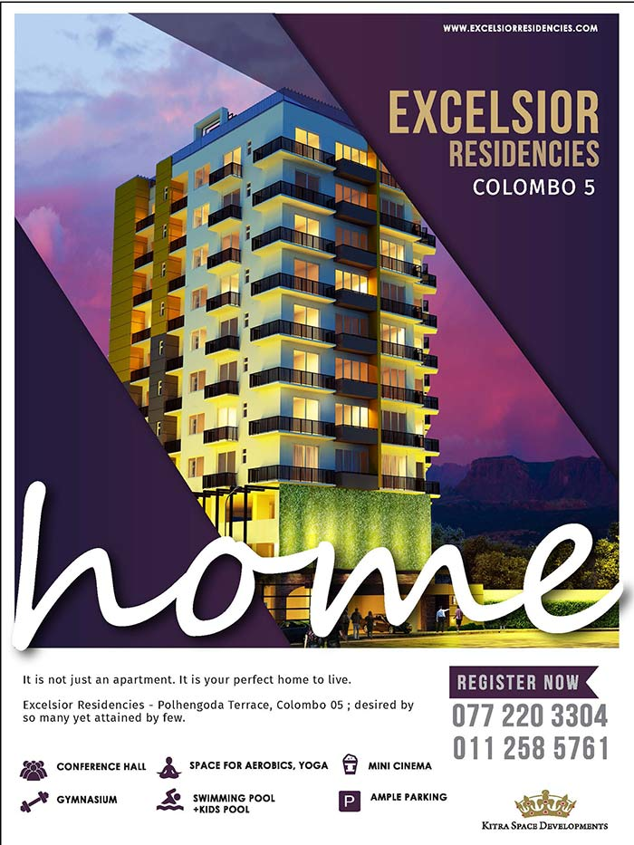 Excelsior Residencies ; the latest luxury apartment in Colombo 05