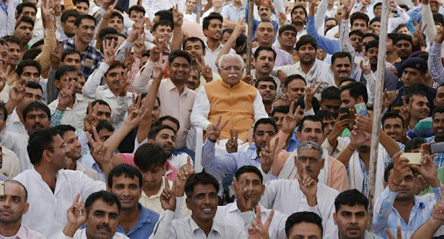 Haryana-JBT-teachers-called-on-CM-in-Chandigarh