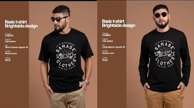 Brand SAMASE Memproduksi Kaos Muslim