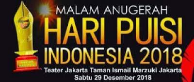 Para Pemenang Anugerah Hari Puisi Indonesia 2018 dan Alasannya