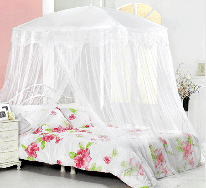 beautiful white queen size beds from us stores | New Bed Canopy Mosquito Net White Lace bedding fits twin ...