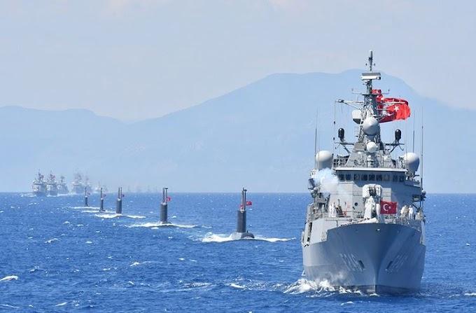 Ο τουρκικός στόλος βγαίνει στο Αιγαίο - 3 νέες Navtex ανακοίνωσε η Τουρκία