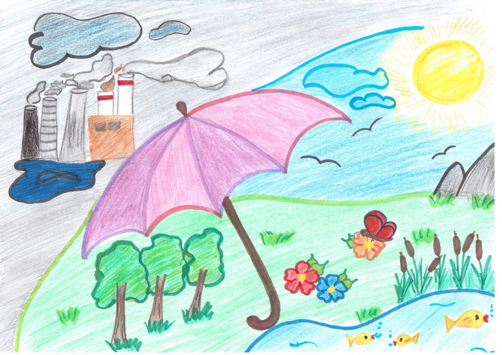 Пасху, картинки защита окружающей среды рисовать