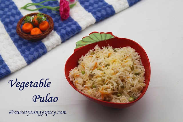 Easy Vegetable Pulao | How To Make Mixed Vegetable Pulao At Home | Pulao