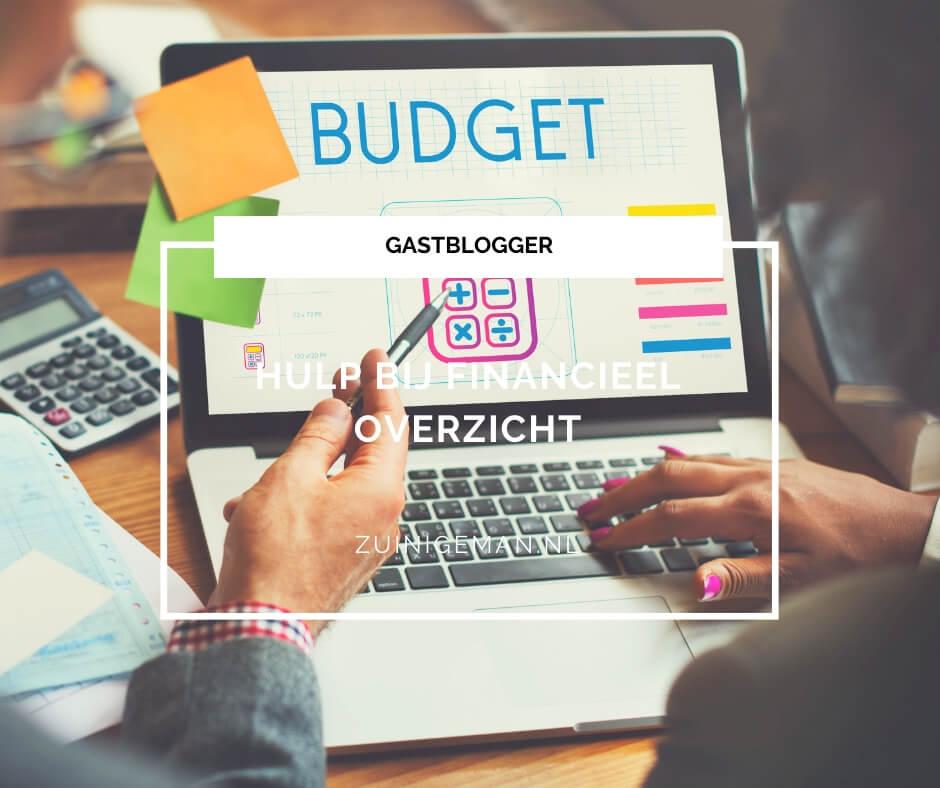 Hulp bij financieel overzicht