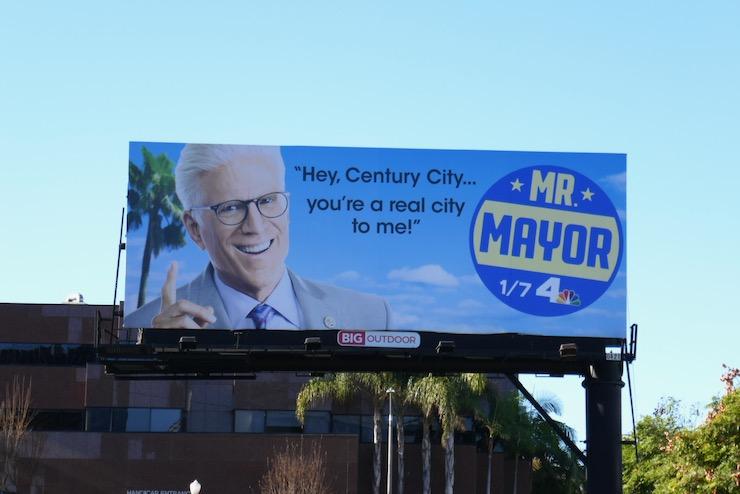 Hey Century City Mr Mayor billboard