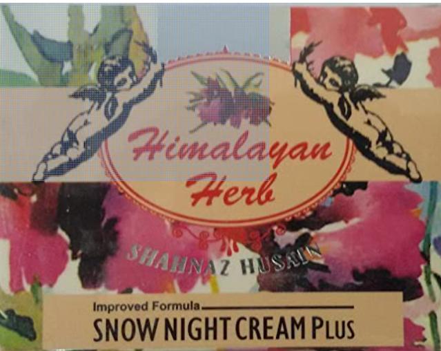 Shahnaz Husain's Vedic Solutions Shahnaz Husain's Vedic Solutions Himalayan Herb Snow Night Cream, 40g