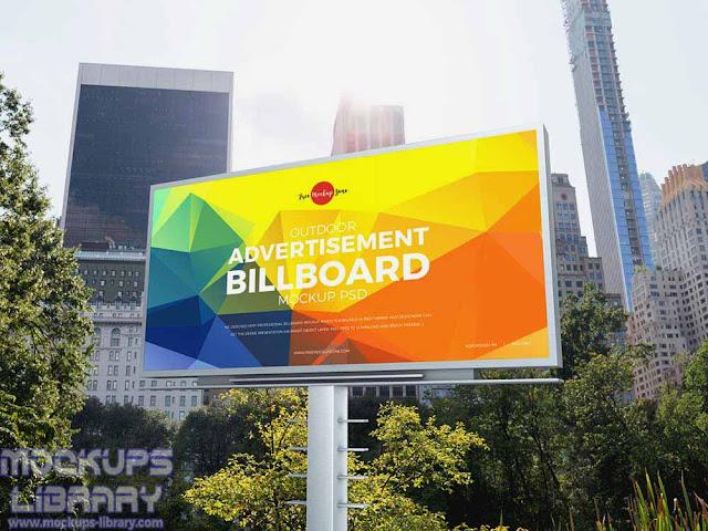 city outdoor advertising billboard