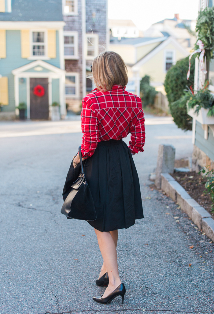 J.Jill Plaid Tunic