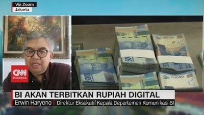 Cryptocurrency Digital Rupiah Segera Terbit, Ini Tiga Pertimbangan Bank Indonesia